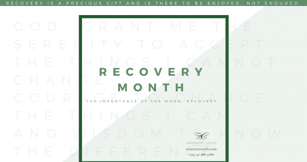 """The Importance of the Word """"Recovery"""""""
